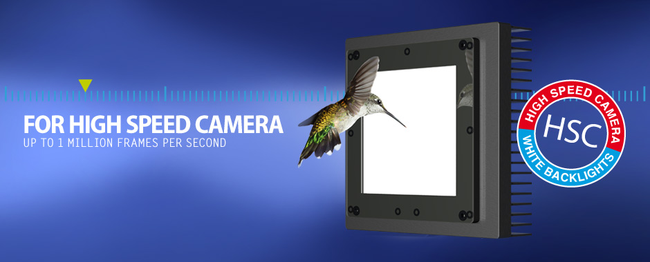New: HSC Backlights For High Speed Camera